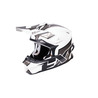 FXR Blade Clutch MX Helmet White/Charcoal/Black