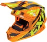 FXR Blade 2.0 Carbon Throttle Helmet Orange/Hi-Vis