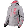 FXR Women Fresh Jacket Grey Linen/Coral