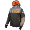 FXR Child Helium Jacket Black/Char/Orange