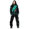 FXR W CX Insulated Monosuit Black/Mint