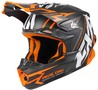 FXR Blade 2.0 Vertical Helmet Black/White/Orange